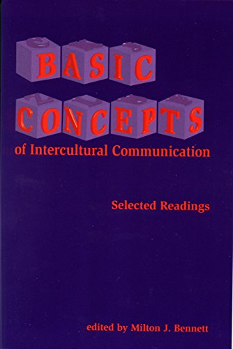 Basic Concepts of Intercultural Communication: Selected Readings