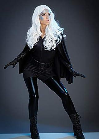 Magic Box Disfraz de tormenta de Estilo X-Men Gris Oscuro para ...