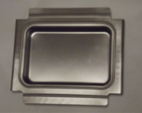 41887 Weber Gas Grill Catch Pan Holder for Q 100, 120, (Catch Pan Holder)