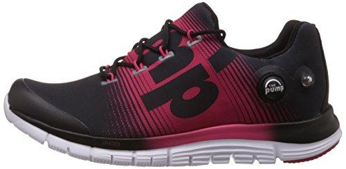 Reebok Zapatillas de running para mujer negro / rosa