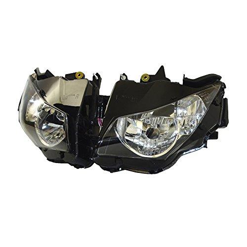 12 Honda Cbr1000rr Motorcycle - waase Motorcycle CBR 1000 RR 12-16 Front Headlight Headlamp Head Light Lamp Assembly For Honda CBR1000RR Fireblade 2012 2013 2014 2015 2016 (Clear Lens)