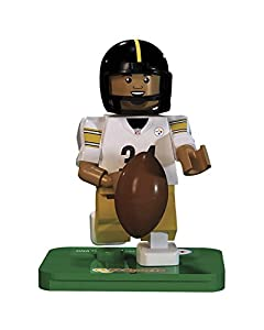 NFL GEN3 Pittsburgh Steelers DeAngelo Williams Limited Edition Minifigures, Yellow, Small