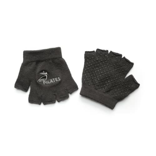 Sissel Gants Pilates mixte adulte Noir Taille Unique