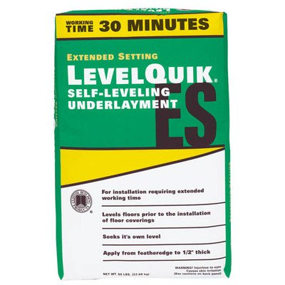 Custom Building Products LevelQuik Extended Set Self-Leveling Underlayment #LQESL50