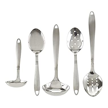 All 4 You, Stainless Steel Utensil Serving Set, 5 Piece