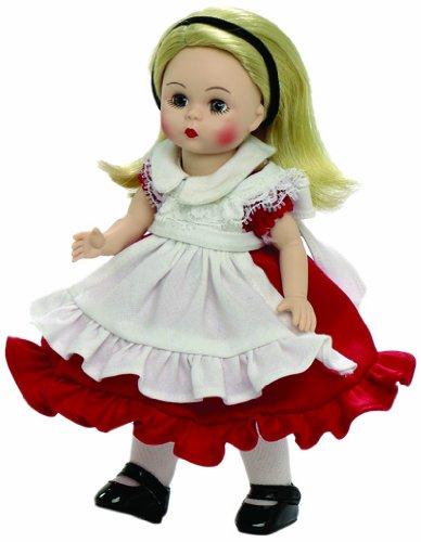 (Madame Alexander Alice in Wonderland Red Dress 8