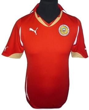 Bahrain Home Shirt 2010 12 - Red - Medium  Amazon.co.uk  Sports ... 6719a7547