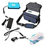 Caredaily 3L Portable O2 Concentrator with Battery Travel-Size Air Purifier for Travelling and car use