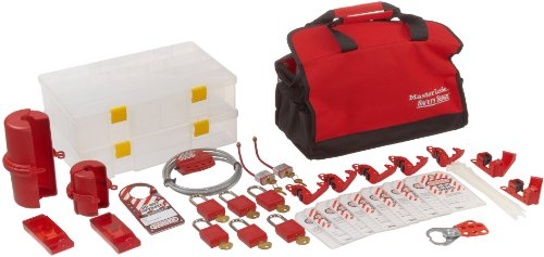 Master Lock Portable Electrical Lockout Assortment, Includes 6 Zenex Padlocks by Master Lock