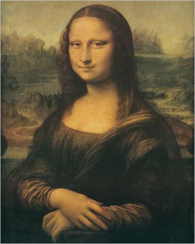 Mona Lisa by Leonardo Da Vinci Poster Print