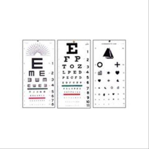 Snellen Eye Chart (20 Foot) by Eye Charts/Illuminator ()