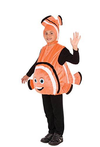 Forum Novelties Child's Plush Fish Costume Orange