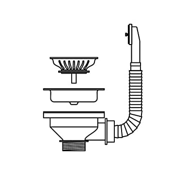 Pyramis Strainer Ø 92 For Overflow Sink/Drain And Overflow Fittings/Spare  Parts