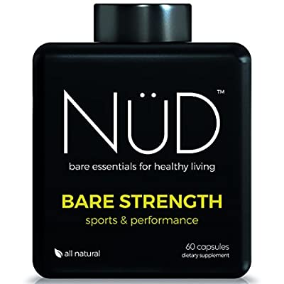 Bodybuilding Supplements From NuD | Bare Strength Sum & Substance - All-Natural Supplements For Muscle Growth, Strength, And Durability | 90 Capsules