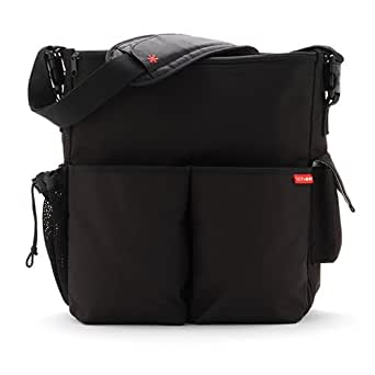 Skip Hop Duo Deluxe Diaper Bag ,Deluxe Black