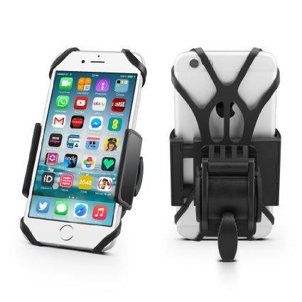 Bike Mount,iForaa Universal Bicycle Motorcycle Handlebar Roll Ball Mount Adjustable Cell Phone...