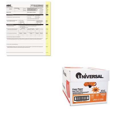 KITPMC59101UNV21200 - Value Kit - Pm Company Digital Carbonless Paper (PMC59101) and Universal Copy Paper (UNV21200) by PM Company