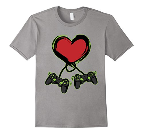 Valentines Day Shirt - Video Gamer Shirt - Controller Shirt