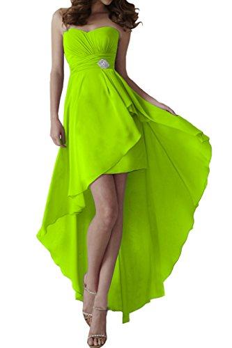 Missdressy -  Vestito  - Senza spalline - Donna verde 44