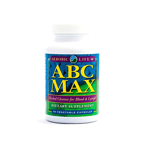 Aerobic Life ABC Max Herbal Blood and Lymph Cleanse Supplement Capsules, 90 Count ()