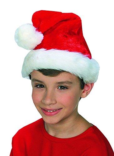 Rubie's Costume Co Child Plush Santa Hat Costume - Child Plush Santa Hat