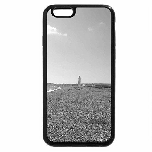 iPhone 6S Plus Case, iPhone 6 Plus Case (Black & White) - hurst spit