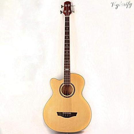 Guitarra acústica eléctrica con ecualizador, 43 pulgadas, 21 ...