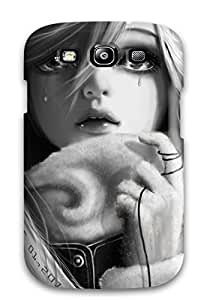 DOlXfiF3628thkER Case Cover, Fashionable Galaxy S3 Case - Girl