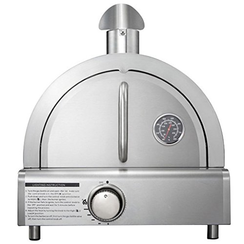 Stainless Steel Portable Pizza Oven, Raise Your Love For Pizza To A Whole New Level With This Portable Stainless Steel Mont Alpi Pizza Oven
