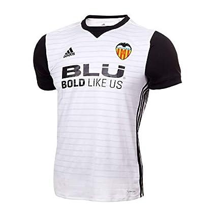 Adidas Vcf H JSY Y Camiseta 1ª Equipación Valencia CF 2017-2018, niños,
