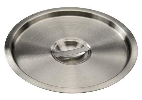 Pot Marie Cover Bain - OKSLO Bamn-12c, 10-inch dia 12-quart stainless steel bain marie pot cover, nsf
