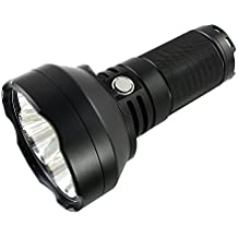 ThruNite TN40S LED Flashlight 4450 Lumens Max 1151 Meters Adopted 4 x CREE XP-L HI LEDs Combo of Thrower & Flood (Cool White)