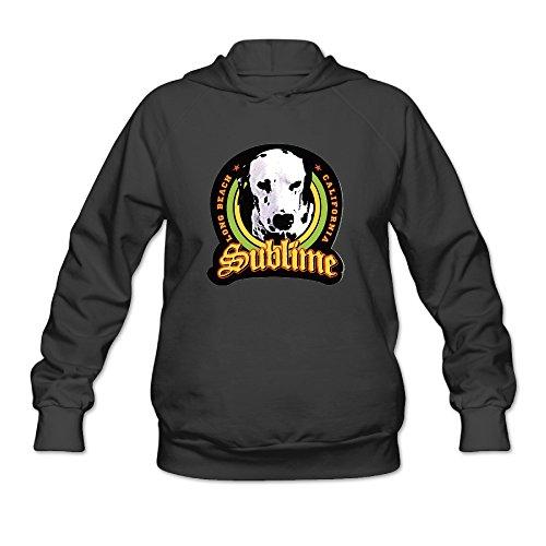 Posspro-EIL Women's Sublime Lou Dog Hoodie Black ()