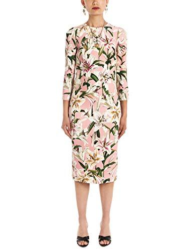 Pink Dolce Gabbana Dress - Dolce e Gabbana Women's F6e3itfsrljhfkk8 Pink Viscose Dress