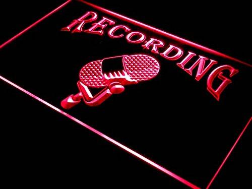 (ADVPRO i206-r Recording On The Air Radio Studio New Light Sign )