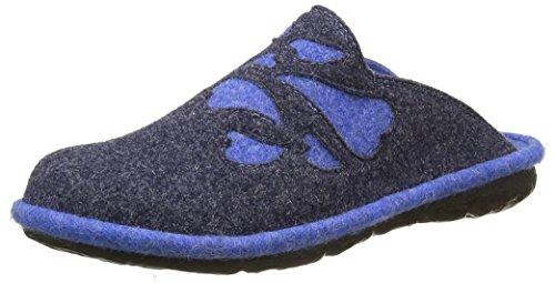 Mujer 500 Bleu Mikado Romika Blau Mules 86 xqwtw1T