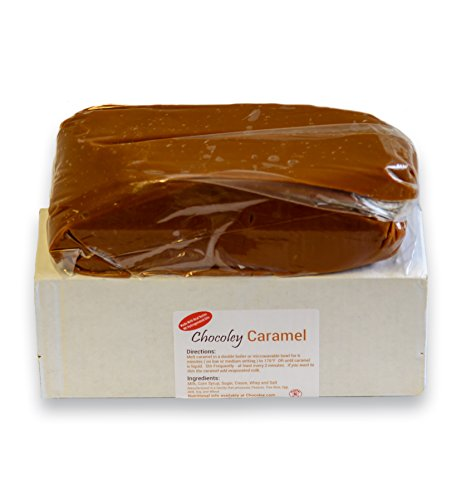 Chocoley Gourmet Caramel Block - 5 lbs Brick - NO Hydrogenated Oils by Chocoley