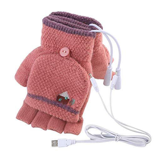 USB Heated Gloves Mitten