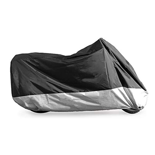 - PrimeShield All Season Waterproof Motorcycle Cover, Fits up to 113