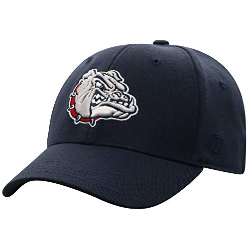 Top of the World Gonzaga Bulldogs Men's Memory Fit Hat Icon, Navy, One Fit