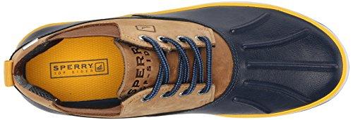 Sperry Fowl Weather De cuero para hombre Chukka Botas / Zapatos Navy