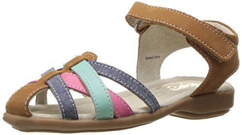 See Kai Run Girls' Camila Sandal, Brown Sugar, 11 M US Little Kid