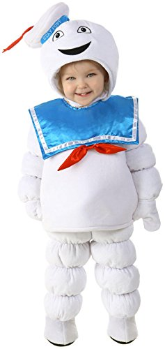 Princess Paradise Baby Boys' Ghostbusters Stay Puft, White/Blue, X-Small -