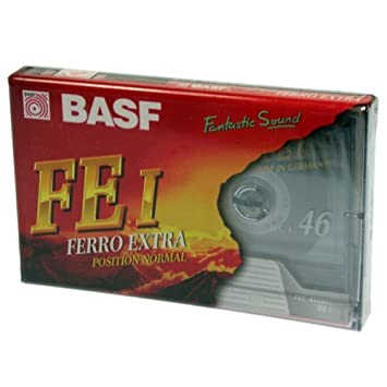 Pack 2 Cintas de casete audio BASF FE-I Ferro Extra. 46 min Position Normal: Amazon.es: Electrónica