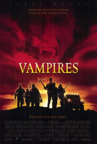 Amazon.com: Movie Posters John Carpenter's Vampires - 27 x 40 ...