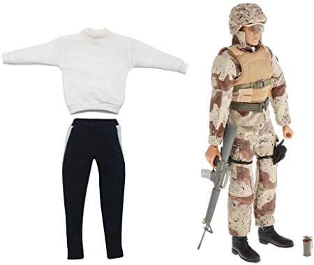 dailymall 1/6スケール CS兵士服 ロングスリーブ フォーマルドレスシャツ 12インチアクションフィギュア衣装