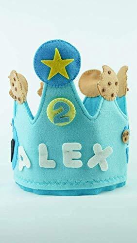 Corona Cumpleaños Monstruo de las galletas: Amazon.es: Handmade