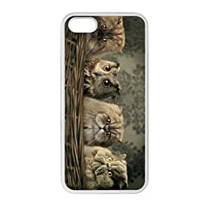 Get Your Own Style Of Owl custom TPU Cover Case For iPhone5 iPhone5S(Laser Technology)