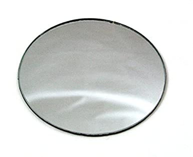 75mm Round Double Sided Convex Concave Mirror Amazon Com