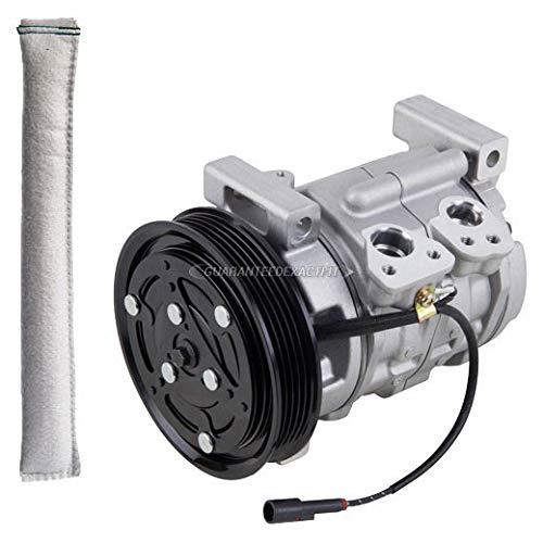 (AC Compressor w/A/C Drier For Suzuki Vitara 1999 2000 2001 2002 - BuyAutoParts 60-86022R2 NEW)